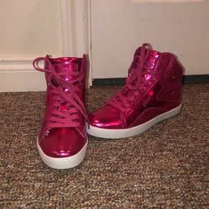Pastry Size 9 Glitter Pink Hip Hop Dance Shoes
